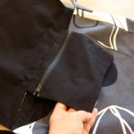 Einfache Umhängetasche: Reißverschlusstasche