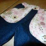 Jeansschlaghose - vordere Taschen