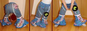 """Eine """"Lunada"""" aus Jeans"""