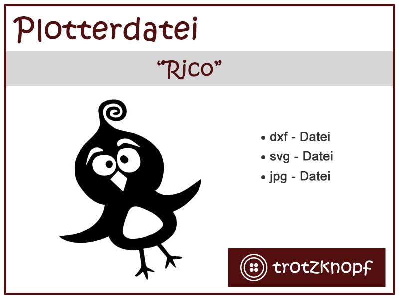 Freebie Vogel Rico